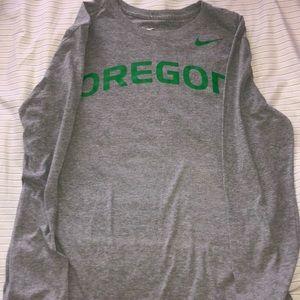 Nike men's Oregon long sleeve